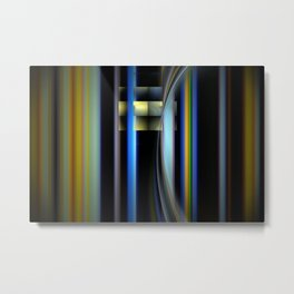 Interstellar Metal Print