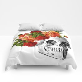 Dia De Los Muertos Sugar Skull Comforters