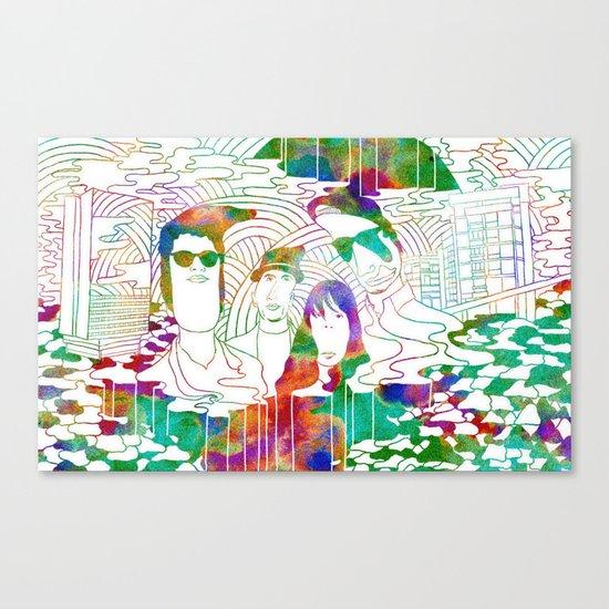 """Bosnian Rainbows"" by Steven Fiche Canvas Print"