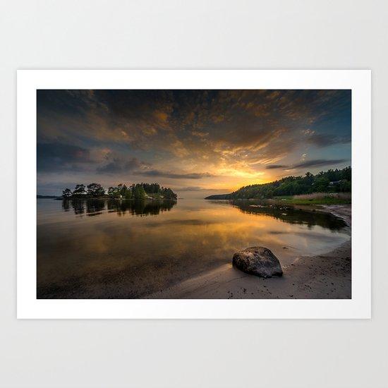 Serenity by dawn Art Print