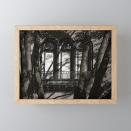 Red Leaf Framed Mini Art Print