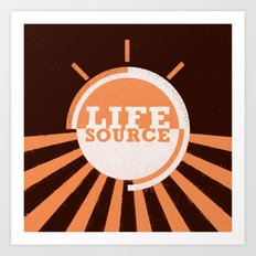 Life Source Art Print