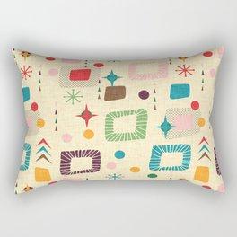 Atomic pattern Rectangular Pillow