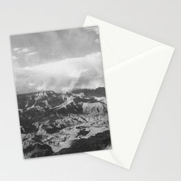 GRAND CANYON II (B+W) Stationery Cards