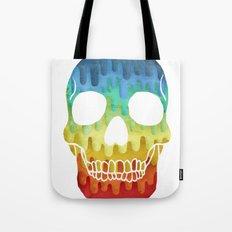 Paper Skull Tote Bag