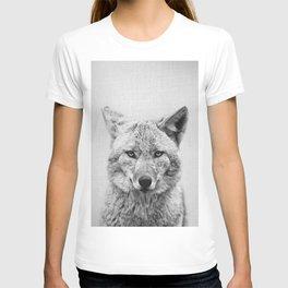 Coyote - Black & White T-shirt