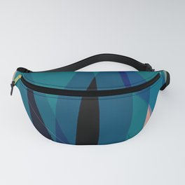 abstract tulips Fanny Pack