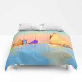 Rainbow Fleet Comforters