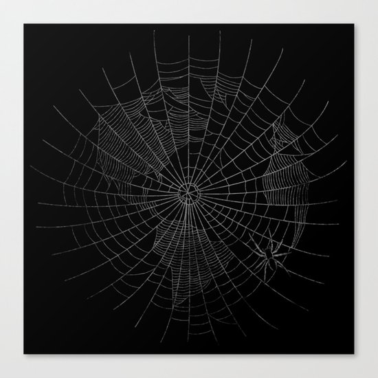 The World Wide Web Canvas Print