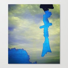 Signs in the Sky Collection - Hope Canvas Print