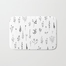 Wildflowers Bath Mat