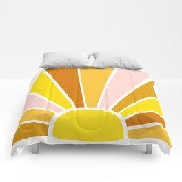Sun Ray Burst Comforters