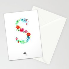 monograms - S Stationery Cards
