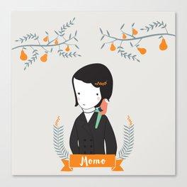 Momo Canvas Print