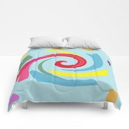 Fingerpaint Comforters