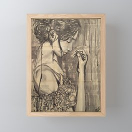 Luglio Framed Mini Art Print