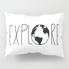 Explore the Globe x BW Pillow Sham