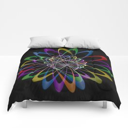 Abstract perfection 201 Comforters