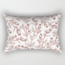 Thistle in Autumn Rectangular Pillow
