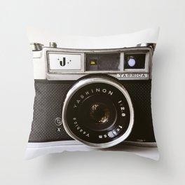 Camera II Throw Pillow