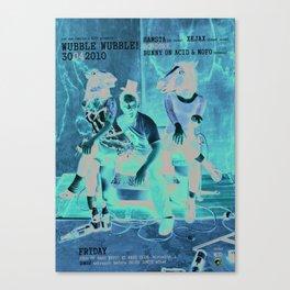 Wubble Wubble ANALOG zine Canvas Print