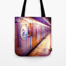 MTA Subway to Hell Tote Bag