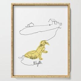 Wyeth Christina's World Serving Tray