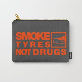 SMOKE TYRES NOT DRUGS v6 HQvector Carry-All Pouch
