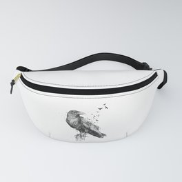 Born to be free (bw) Fanny Pack
