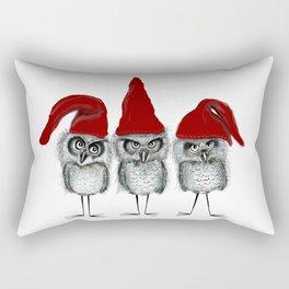 Christmas owls Rectangular Pillow
