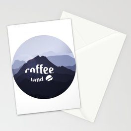 Coffee highland - I love Coffee Stationery Cards