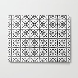 Diamond Tile 1 Metal Print