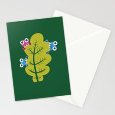 Bugs Eat Green Leaf Stationery Cards