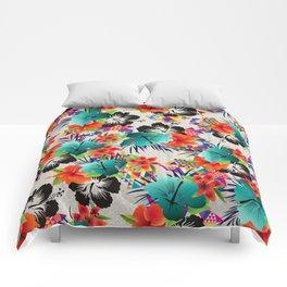 tropical summer Comforters