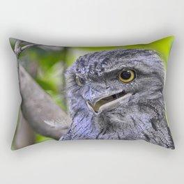 Tawny Frogmouth Rectangular Pillow