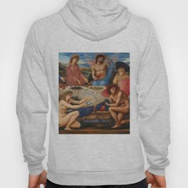 "Edward Burne-Jones ""The Feast of Peleus"" Hoody"