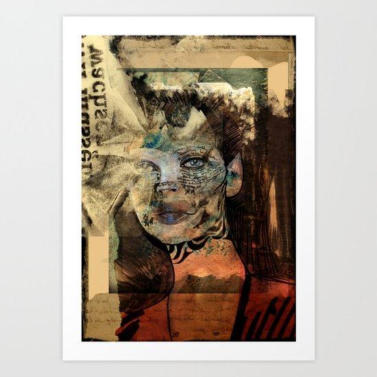 be lost Art Print