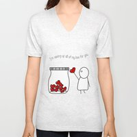 I'm Saving Up All My Love For You! Unisex V-Neck