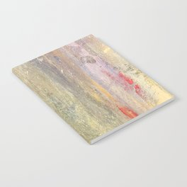 Streaks of Sunset Raining Down: Abstract Art Notebook