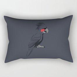 Palm Cockatoo Rectangular Pillow