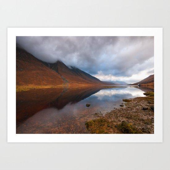 Loch Etive Art Print