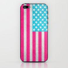 USA Flag iPhone & iPod Skin