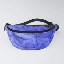 Intensely Blue Flowers Fanny Pack
