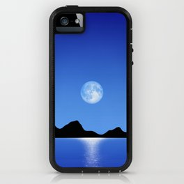 Moon Horizon 103 Natural iPhone Case