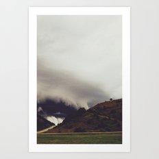 Beneath The Cloud Art Print