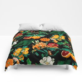 Fruit and Floral Pattern Comforters
