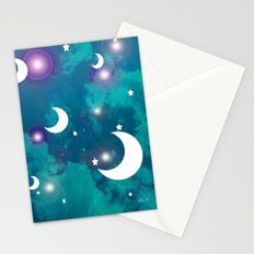 Night Stars Stationery Cards