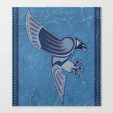 Aboriginal Hawk Wings Attack Canvas Print