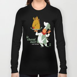 Le Cheval Mort Long Sleeve T-shirt