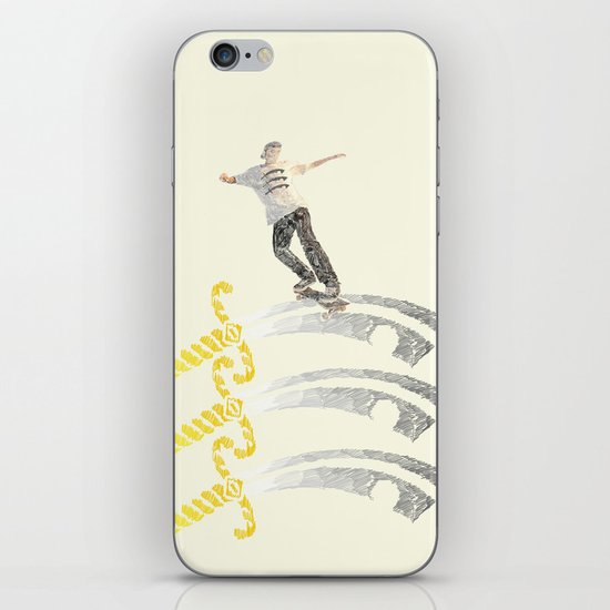 essex skateboarding  iPhone & iPod Skin